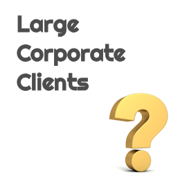 Large Corporate Client's Logo