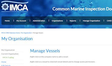 International Marine Contractors Association (IMCA) (noscript)